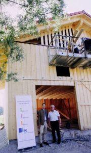 Bau der Teetrockenhalle in der schönen Gemeinde Eichenau